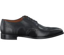 Schwarze Van Lier Business Schuhe 4128