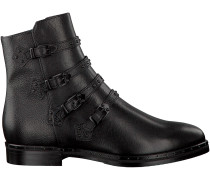 Schwarze Maripé Stiefeletten 25061