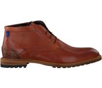 Cognac Floris van Bommel Ankle Boots 10907
