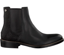 Schwarze Tommy Hilfiger Chelsea Boots P1285OLLY 10C