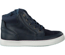 Blaue Omoda Ankle Boots SPACE 11