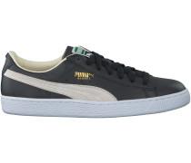 Schwarze Puma Sneaker BASKET CLASSIC B&W