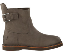 Taupe Shabbies Schnürboots 181020074