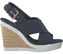 Blaue Calvin Klein Sandaletten ELIANE