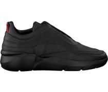 Nubikk Sneaker Elven Boulder Reflect Schwarz Herren