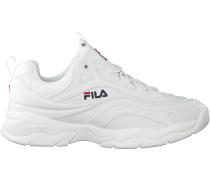 Weiße Fila Sneaker Ray Low Men