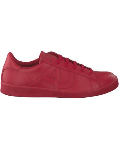 giorgio armani herren rote armani sneaker 06565 reduziert. Black Bedroom Furniture Sets. Home Design Ideas