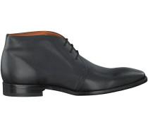 Schwarze Van Lier Business Schuhe 6001