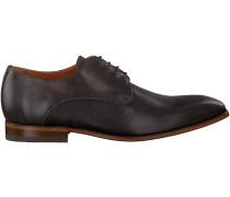 Graue Van Lier Business Schuhe 4030