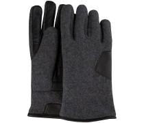 UGG Handschuhe Fabric And Leather Glove Grau Herren