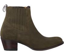 Grüne Sendra Chelsea Boots 12380