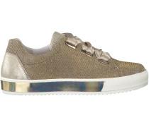 Goldene Gabor Sneaker 505