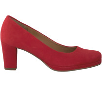 Rote Gabor Pumps 190