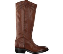 Catarina Martins Cowboystiefel Nomad High Embroidery Cognac Damen