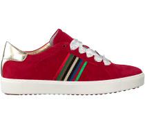 Rote Maripé Sneaker 26164-P