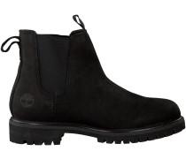 Schwarze Timberland Chelsea Boots 6 IN PREMIUM CHELSEA