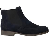 Blaue Gabor Chelsea Boots 662