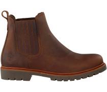 Braune Panama Jack Chelsea Boots BRYAN