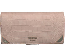 Rosa Guess Portemonnaie TRYLEE FILE CLUTCH