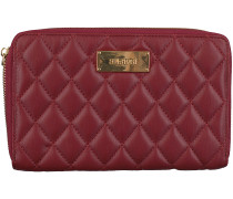 Rote Supertrash Portemonnaie JANE WALLET QUILTED