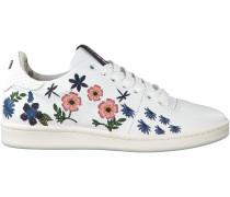 Weiße Floris van Bommel Sneaker 85235