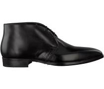 Schwarze Giorgio Business Schuhe HE50228