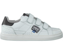 Weiße Vingino Sneaker JAY VELCRO