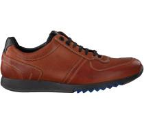 Cognac Floris van Bommel Sneaker 16179