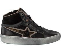 Schwarze Kanjers Sneaker 5274LP