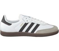 Weisse Adidas Sneaker SAMBA HEREN