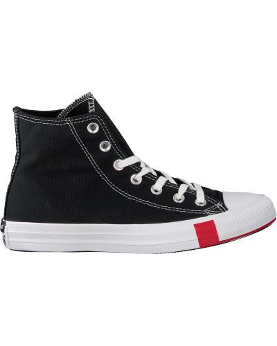 Converse Sneaker High Chuck Taylor As Multi Logo Schwarz Damen