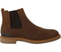 Braune Omoda Chelsea Boots MRINO612
