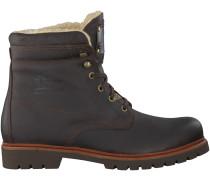 Braune Panama Jack Ankle Boots NEW AVIATOR