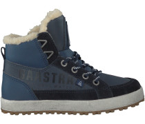 Blaue Gaastra Boots CROSSJACKS MID FUR
