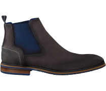 Graue Braend Chelsea Boots 24601