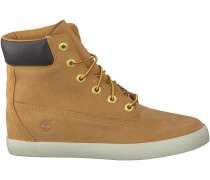 Camelfarbene Timberland Sneaker FLANNERY 6IN