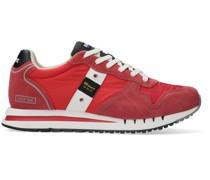 r Sneaker High Man Mesh/nylon/suede Running Rot Herren
