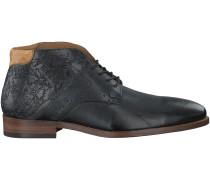 Schwarze Rehab Business Schuhe ADRIANO
