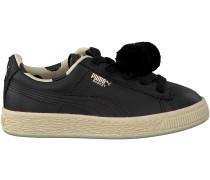 Schwarze Puma Sneaker PUMA X TC BASKET POMPOM
