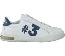 Weisse Hip Sneaker H1614