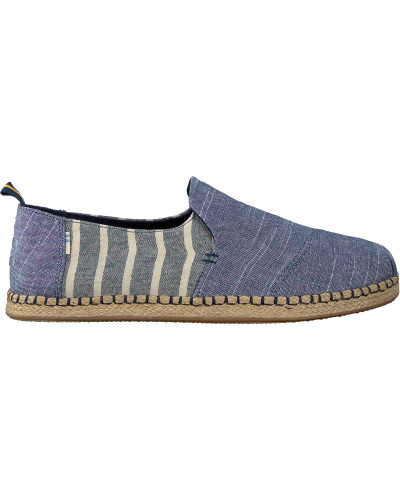 Blaue Toms Espadrilles Deconstructed Alpargata Men