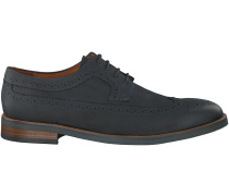 Schwarze Van Lier Business Schuhe 5378