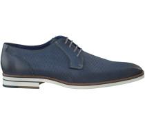 Blaue Braend Business Schuhe 415113