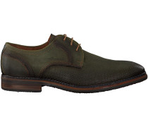 Grüne Braend Business Schuhe 15545