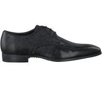 Schwarze Giorgio Business Schuhe HE46969