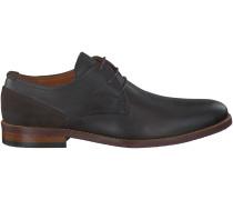 Braune Van Lier Business Schuhe 5340