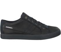 Schwarze Diesel Sneaker D-SRING LOW