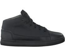 Schwarze G-Star Sneaker THEC MID MONO