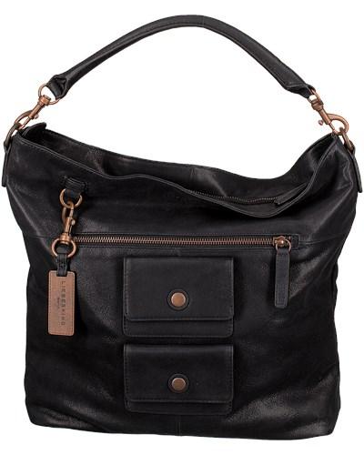 liebeskind damen schwarze liebeskind handtasche fenja 18 reduziert. Black Bedroom Furniture Sets. Home Design Ideas