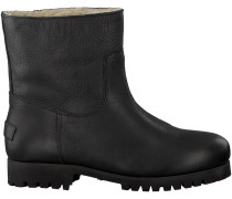 Schwarze Shabbies Ankle Boots 181020072